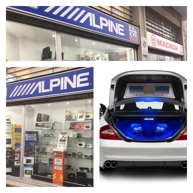 divisione rpa mobility per vendita prodotti hifi car alpine